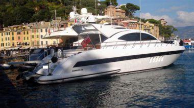Купить яхту 72' Mangusta 72 Hard Top - OVERMARINE - MANGUSTA 72' Mangusta 72 Hard Top в Atlantic Yacht and Ship