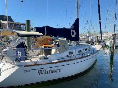 """Buy a yacht Wimsey - TARTAN 34' 2"""""""