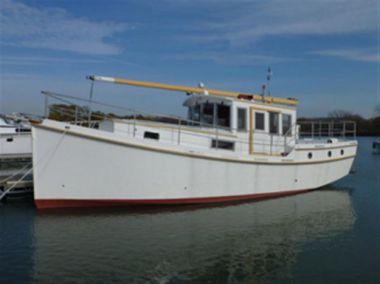 Стоимость яхты 40' 2013 Diesel Duck 40 Trawler George Buehler Trawler Design - George Buehler Yacht 2013