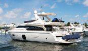 Купить яхту SPARE CHANGE - FERRETTI YACHTS 720 в Atlantic Yacht and Ship