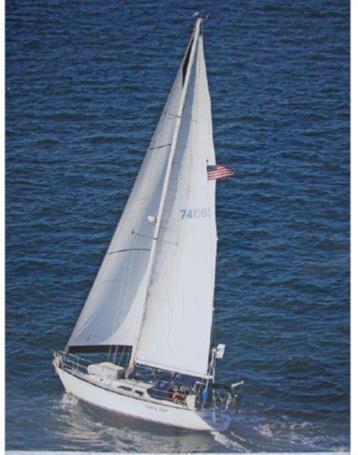 Lickety Split - C & C Yachts Centerboard