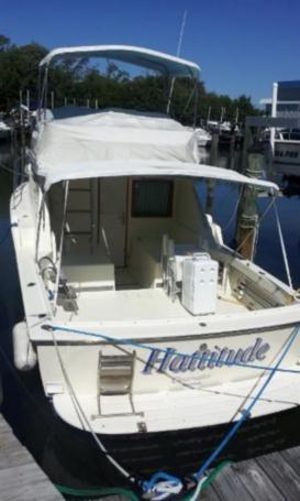 HATTITUDE - HATTERAS 32 FLYBRIDGE FISHERMAN