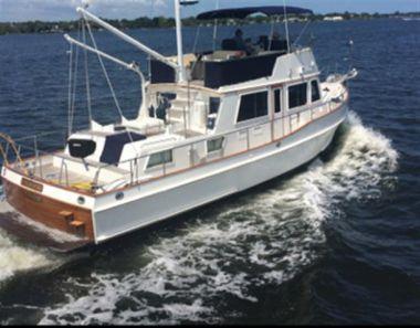 Продажа яхты Shenanigans II - GRAND BANKS 42 Heritage Classic