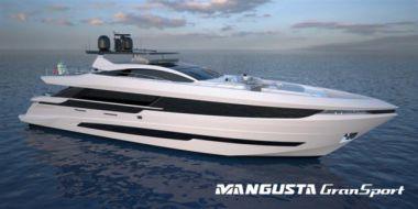 "Mangusta GranSport 33 #2 - project Taormina - OVERMARINE - MANGUSTA 109' 3"" yacht sale"