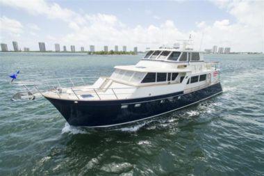 Продажа яхты Blue Heron - MARLOW 70E CB