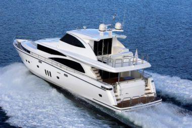 Купить яхту JOHNSON 80' SKYLOUNGE W/FISHING COCKPIT - JOHNSON 2018 в Atlantic Yacht and Ship