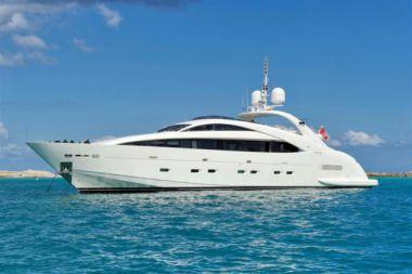 Купить яхту Whispering Angel - ISA YACHTS 120 MY в Shestakov Yacht Sales