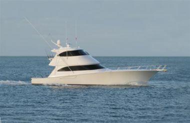 Buy a Magic Lady - VIKING 62 Enclosed Bridge Convertible at Atlantic Yacht and Ship