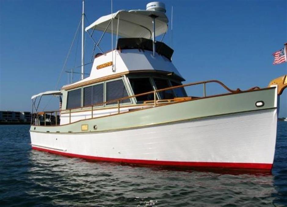 32ft 1969 Grand Banks Trawler - GRAND BANKS - Buy and sell