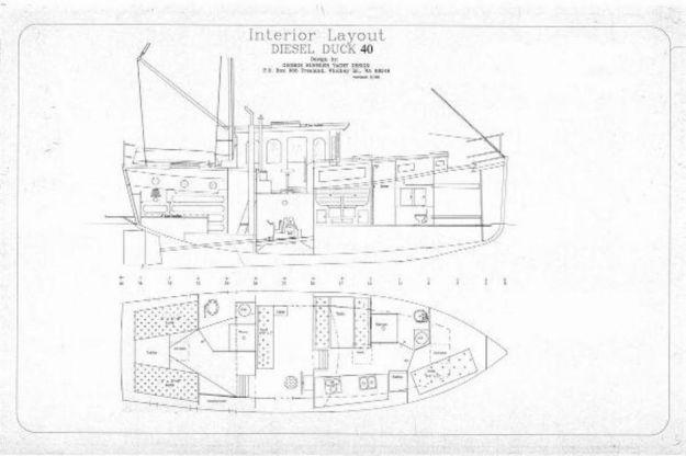 40 2013 Diesel Duck 40 Trawler George Buehler Trawler Design