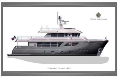 Продажа яхты Darwin Class 92 - Cantiere delle Marche Darwin Class 92