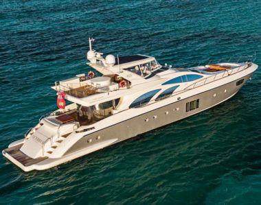 Azimut 100 Leonardo Flybridge yacht sale