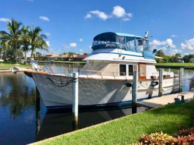 """best yacht sales deals 43 1983 Ocean Alexander 43 Double Cabin - OCEAN ALEXANDER 43' 0"""""""