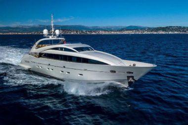"""GEMINI - ISA YACHTS 119' 8"""" yacht sale"""