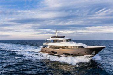 "Ferretti Custom Line Navetta 28 - FERRETTI CUSTOM LINE 89' 8"" yacht sale"