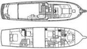 Стоимость яхты 74 Sport Deck  - HATTERAS