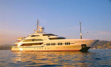 """best yacht sales deals AMBROSIA Hybrid ABB Azipod - BENETTI 213' 4"""""""