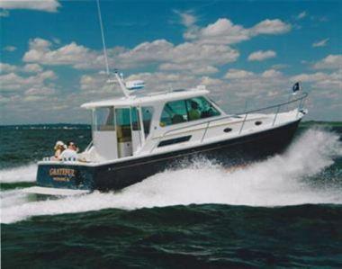 Купить яхту Grateful - BACK COVE Downeast Hardtop Express в Atlantic Yacht and Ship