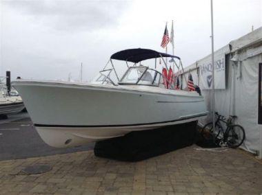 "Продажа яхты Vanquish 26 Dual Console Stock Boat - Vanquish Boats  26' 0"""