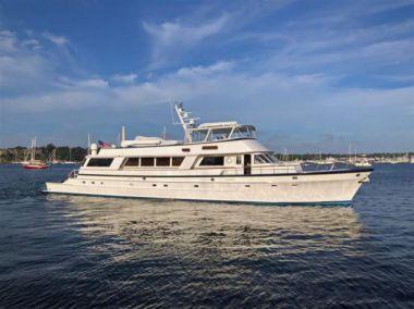 Продажа яхты Banyan - PALMER JOHNSON Cockpit Motoryacht