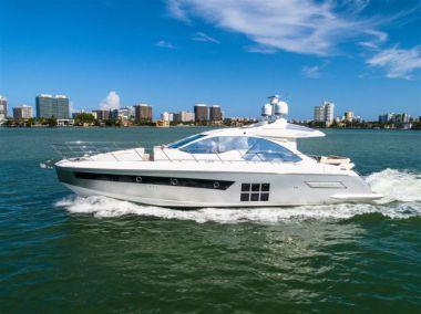 "Huck Faters - AZIMUT S 56' 9"" yacht sale"