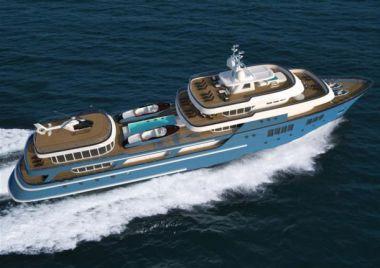 "Купить яхту Sea The Stars - COLUMBUS YACHTS 262' 6"" в Atlantic Yacht and Ship"