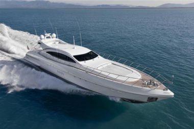 "Kampai - OVERMARINE - MANGUSTA 92' 0"" yacht sale"