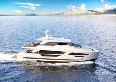"""Лучшие предложения покупки яхты FD87 Skyline (New Boat Spec) - HORIZON 90' 1"""""""