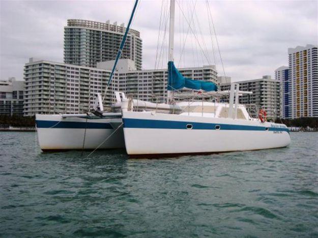 Malcolm Tennant Catamaran - MALCOM TENNANT MULTIHULL DESIGN