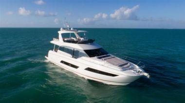 Купить яхту NEW 2018 Prestige 680 Flybridge PR18WA-027 - PRESTIGE 680 Flybridge в Atlantic Yacht and Ship