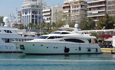 "Продажа яхты Fair Lady Silvia - FERRETTI YACHTS 88' 9"""