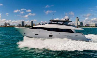 Продажа яхты SNOWGHOST - HATTERAS M90 Panacera