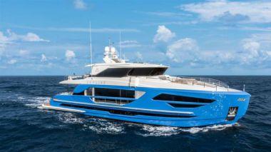 "Купить FD87 Skyline (New Boat Spec) - HORIZON 90' 1"""