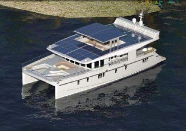 Serenity 74 Solar Catamaran yacht sale