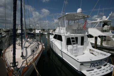 Купить яхту Ticomar - HATTERAS в Atlantic Yacht and Ship
