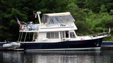 Продажа яхты Fins