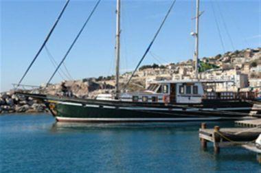 Купить яхту BOJAROS - #1 HULL STEEL KETCH в Atlantic Yacht and Ship