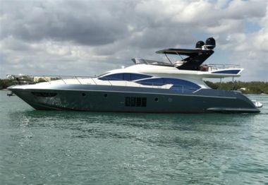 2012 Azimut 70 fly @ Miami -  BT2 - AZIMUT 2012