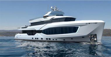 Numarine 37XP Hull #1 - NUMARINE 37XP