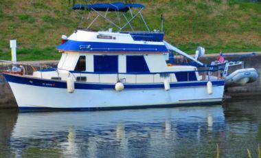 """Купить яхту Solitude - CHB """"34"""" Trawler в Atlantic Yacht and Ship"""
