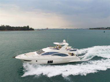 Стоимость яхты Azimut 58