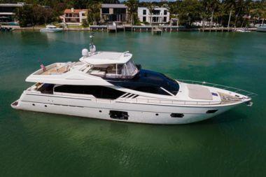 Стоимость яхты 870 Flybridge - FERRETTI YACHTS 2013