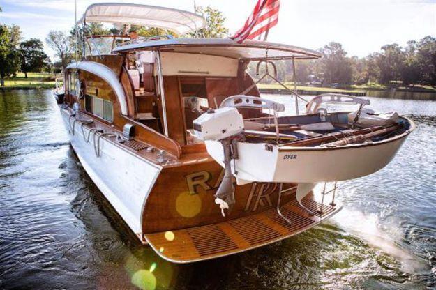 45ft 1954 Chris Craft Flybridge Motor Yacht Chris Craft