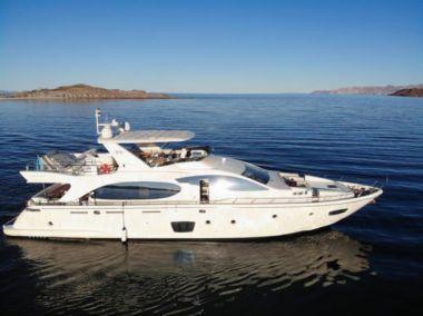 Стоимость яхты MERCEDES 2008 AZIMUT 85 FLY @ LA PAZ BCS - AZIMUT