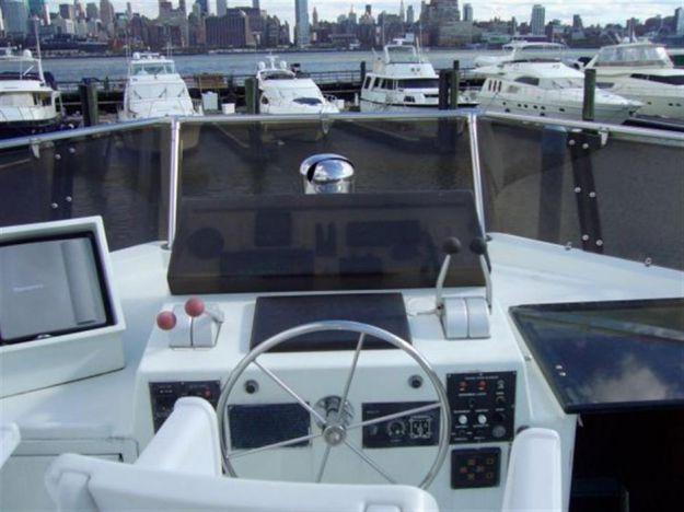 ... best yacht sales deals 54' 1986 Hatteras Enclosed Aft Deck, Motor Yacht - HATTERAS ...