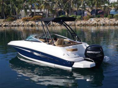 "2015 Sea Ray 220 Sundeck Outboard  - SEA RAY 22' 0"""
