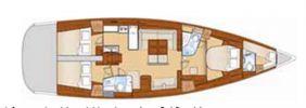 Beneteau Oceanis 54 - BENETEAU Oceanis 54 yacht sale