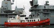 Купить яхту Fintry - CUSTOM Converted Royal Navy Fleet Tender в Atlantic Yacht and Ship